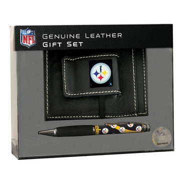 Pittsburgh Steelers Money Clip and Pen Set