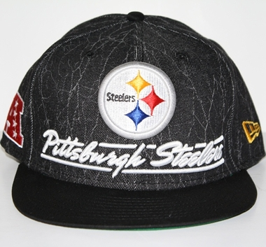 Pittsburgh Steelers New Era 9FIFTY Lightning Strike Snapback Hat