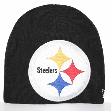 Pittsburgh Steelers New Era Big One Too Cuffless Knit Hat