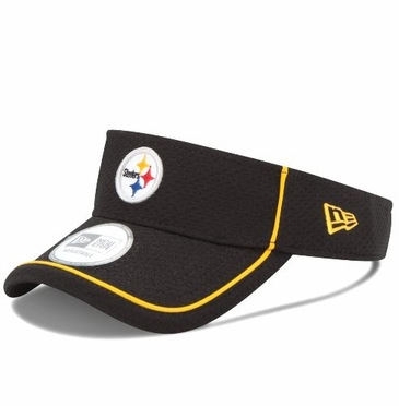 Pittsburgh Steelers New Era NFL Pipe Up Adjustable Performance Visor