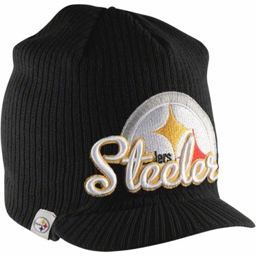 Pittsburgh Steelers New Era NFL Retro Viza Visor Knit Hat