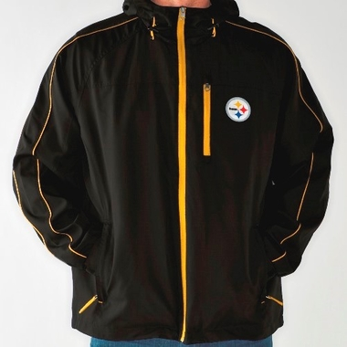 Pittsburgh Steelers NFL G-III Timeout Full Zip Hooded Premium Jacket