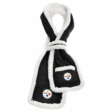 Pittsburgh Steelers NFL Team Sherpa Scarf