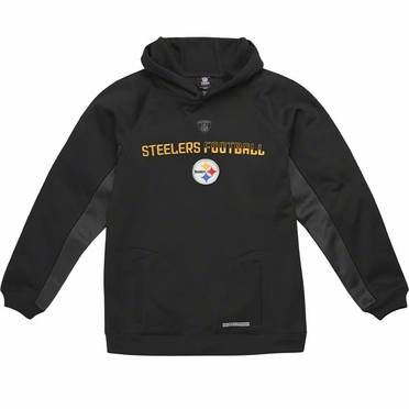 Pittsburgh Steelers NFL YOUTH Endurance Performance Pullover Hooded Sweatshirt