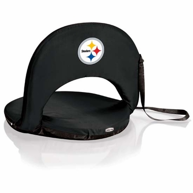 Pittsburgh Steelers Oniva Seat (Black)
