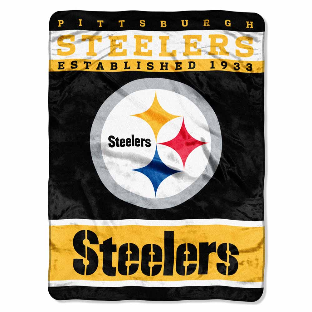 Northwest Pittsburgh Steelers Oversize Plush Blanket at Sears.com