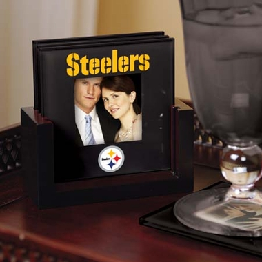 Pittsburgh Steelers Photo Coaster Set