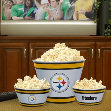 Pittsburgh Steelers Plastic Serving Set