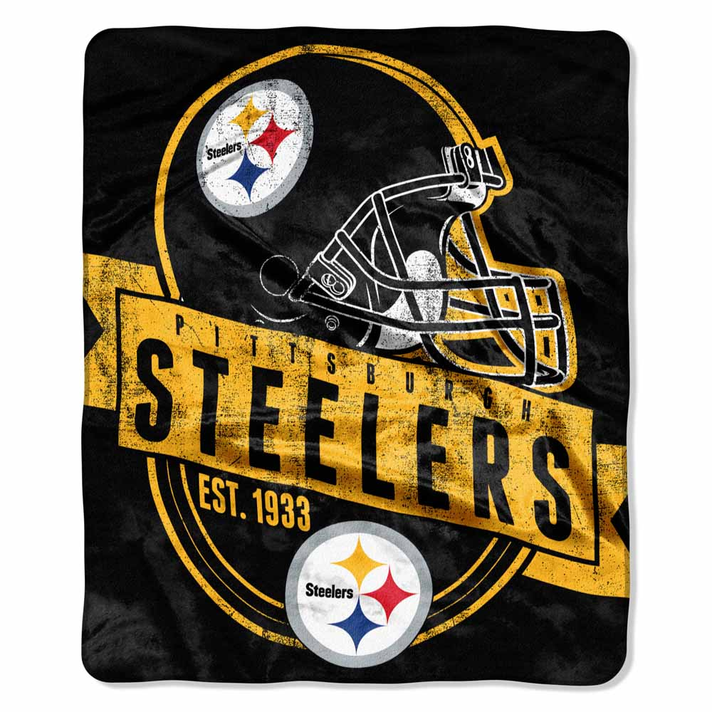 Northwest Pittsburgh Steelers Plush Blanket at Sears.com