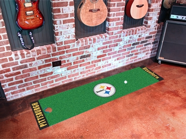 Pittsburgh Steelers Putting Green Mat