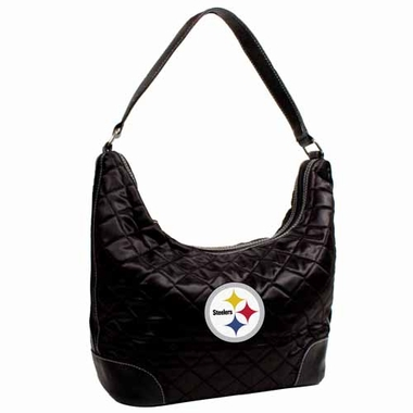 Pittsburgh Steelers Quilted Hobo Purse