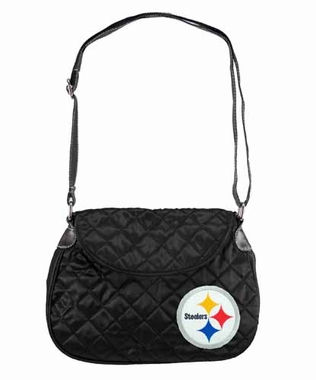 Pittsburgh Steelers Quilted Saddlebag