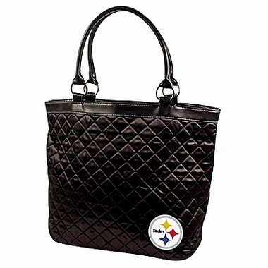 Pittsburgh Steelers Quilted Tote