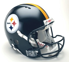 Pittsburgh Steelers Riddell Full Size Authentic Revolution Helmet