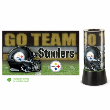 Pittsburgh Steelers Rotating Lamp