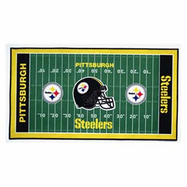 Pittsburgh Steelers Runner Mat