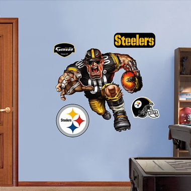 Pittsburgh Steelers Running Back Fathead Wall Graphic