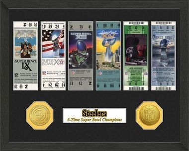 Pittsburgh Steelers Pittsburgh Steelers SB Championship Ticket Collection