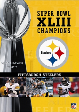 Pittsburgh Steelers SB XLIII Champs DVD