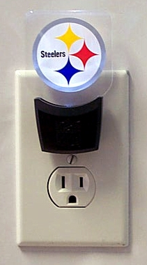 Pittsburgh Steelers Set of 2 Nightlights