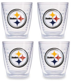 Pittsburgh Steelers Set of FOUR 12 oz. Tervis Tumblers