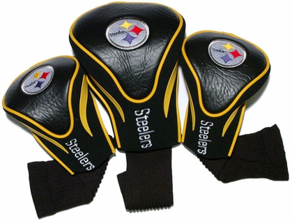 Pittsburgh Steelers Set of Three Contour Headcovers