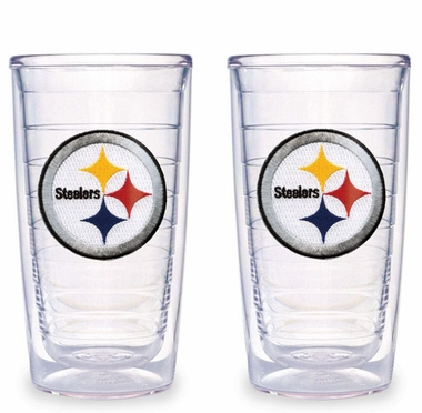 Pittsburgh Steelers Set of TWO 16 oz. Tervis Tumblers