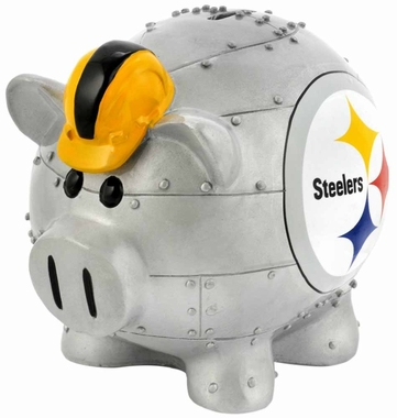 Pittsburgh Steelers Piggy Bank - Thematic Small
