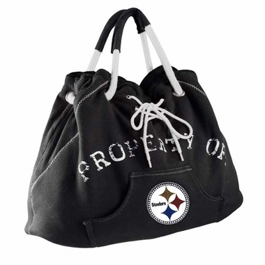 Pittsburgh Steelers Sport Noir Hoodie Purse