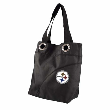 Pittsburgh Steelers Sport Noir Sheen Crossbody Bag
