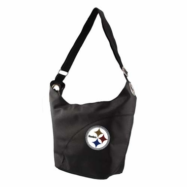 Pittsburgh Steelers Sport Noir Sheen Tote