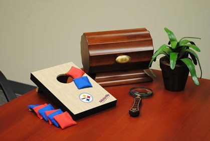 Pittsburgh Steelers Table Top Toss (Wood Design)