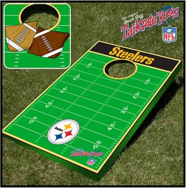 Pittsburgh Steelers Tailgate Toss Cornhole Beanbag Game