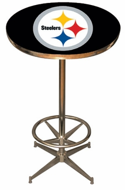 Pittsburgh Steelers Team Pub Table