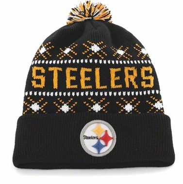 Pittsburgh Steelers Tip Off Cuffed Knit Hat