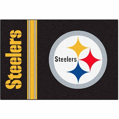 Pittsburgh Steelers Uniform Inspired 20 x 30 Rug