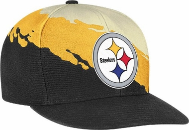 Pittsburgh Steelers Vintage Paintbrush Snap Back Hat