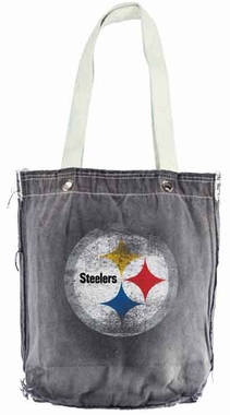 Pittsburgh Steelers Vintage Shopper (Black)