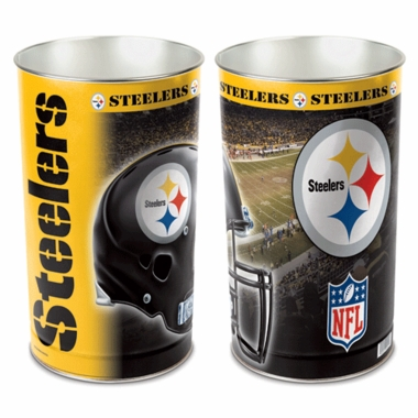 Pittsburgh Steelers Waste Paper Basket