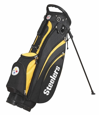 Pittsburgh Steelers Wilson Golf Carry Bag