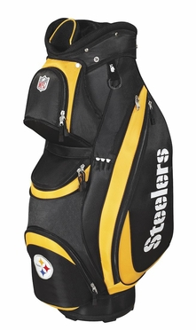 Pittsburgh Steelers Wilson Golf Cart Bag