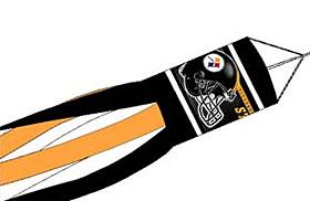 Pittsburgh Steelers Windsock