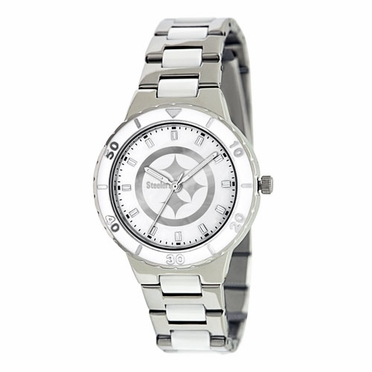 Pittsburgh Steelers Women's Pearl Watch