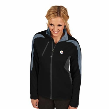 Pittsburgh Steelers Womens Discover Jacket (Team Color: Black)