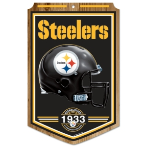 Pittsburgh Steelers Wood Sign