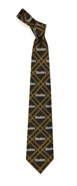 Pittsburgh Steelers Woven Poly 2 Necktie