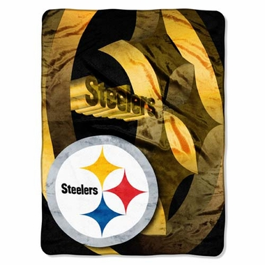 Pittsburgh Steelers XL Micro Raschel Blanket