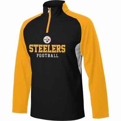Pittsburgh Steelers YOUTH 1/4 Zip Lightweight Pullover Jacket