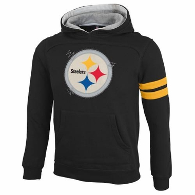Pittsburgh Steelers YOUTH NFL Vintage Super Soft Hooded Sweatshirt