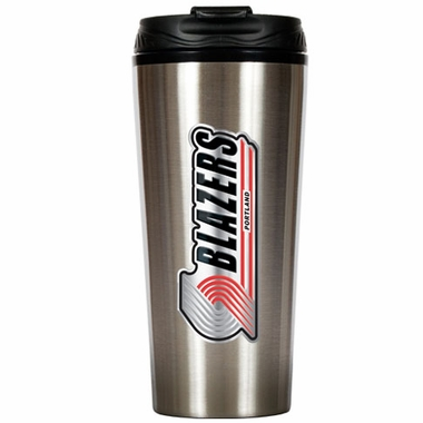 Portland Trailblazers 16 oz. Thermo Travel Tumbler